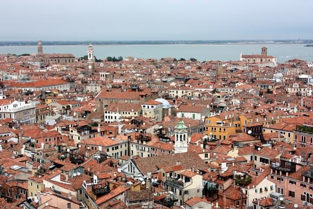 Венеция - вид на город