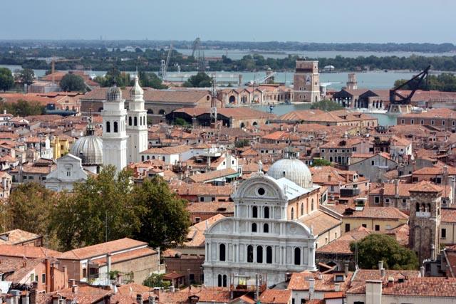 Замечательный вид Венеции сверху