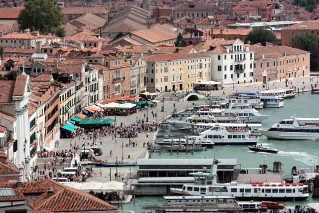 набережная Венеции - вид сверху