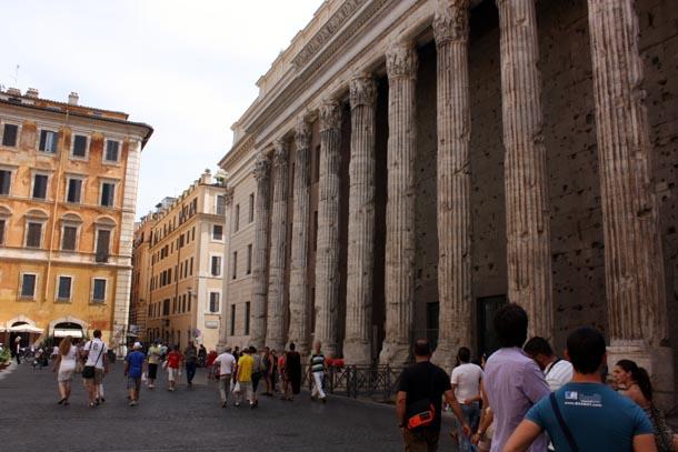 Колонны Пантеона