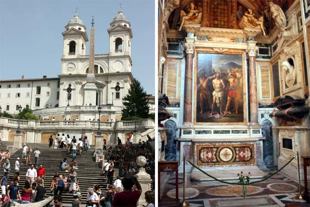Церковь Санта-Тринита-деи-Монти