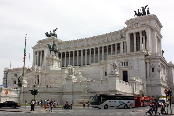 Витториано - Памятник Виктору Эммануилу II