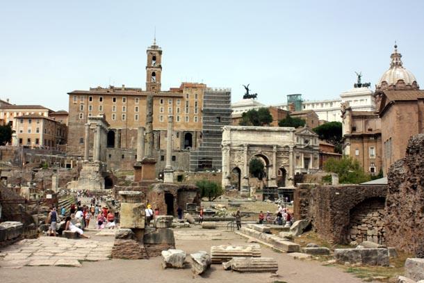 Римский форум - общий вид
