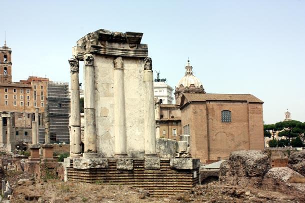 Римский форум - античные строения