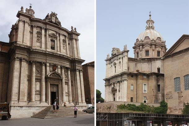 Церковь Святых Луки и Мартины