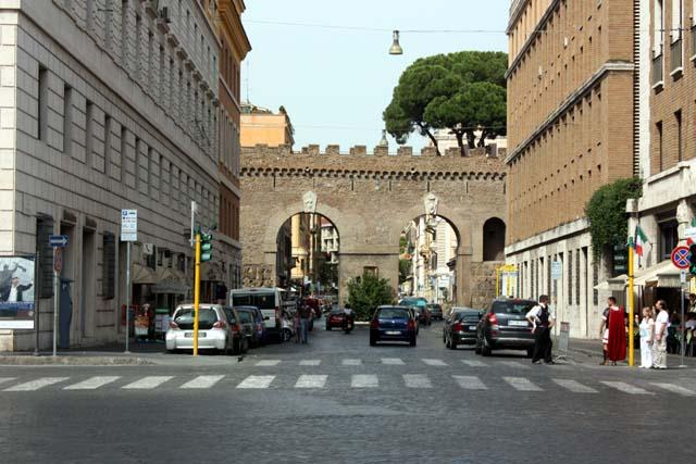 вход на Площадь Святого Петра