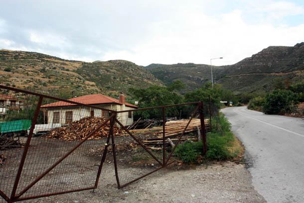 горная деревня в Греции