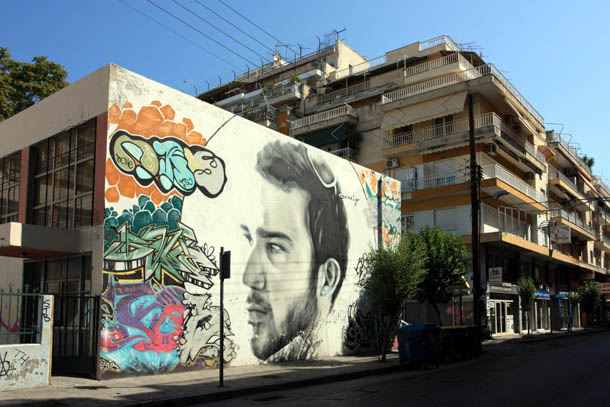 Граффити портрет