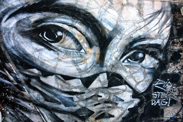 Граффити глаза