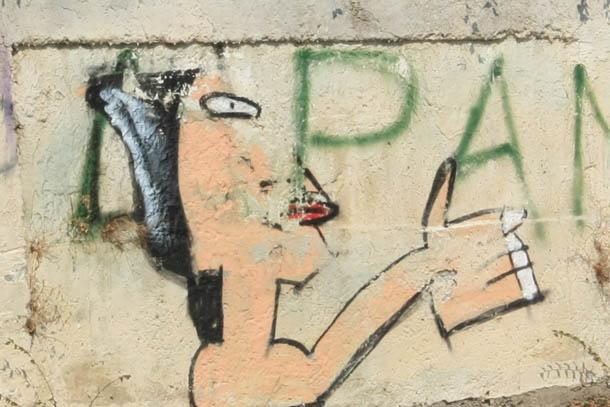 Граффити дама
