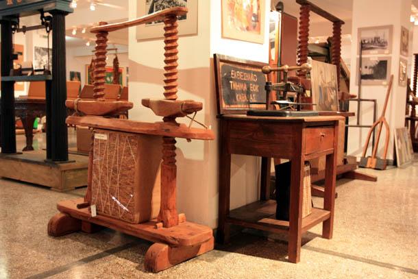 Музей табака в Кавале - экспонаты