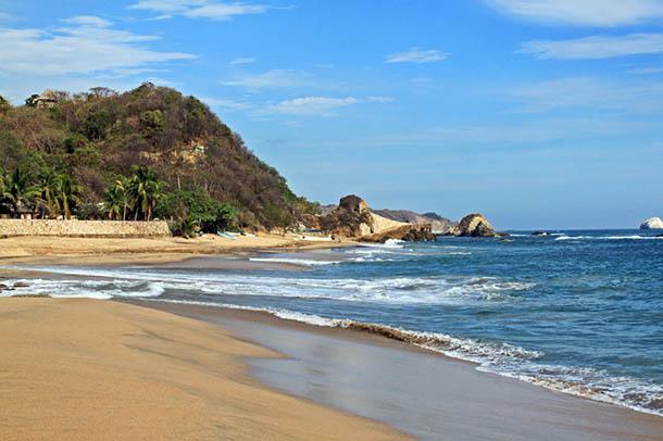 Тихий океан в Мексике
