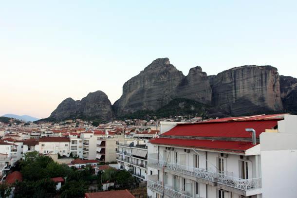 Каламбака панорама скал