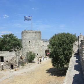 Кавала — крепость и панорама города