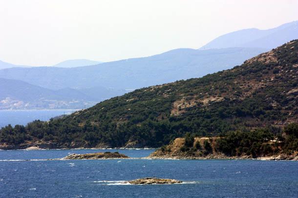 Кавала - горная гряда