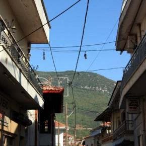 Никисьяни — греческая деревня у горы Пангео