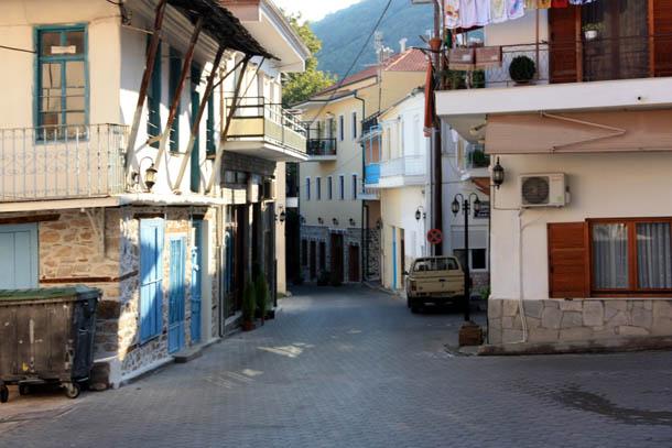 Никисьяни изгибы улиц