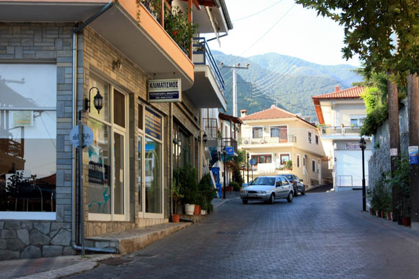 Никисьяни улицы и домики