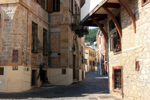 Ксанти - извилистые улицы