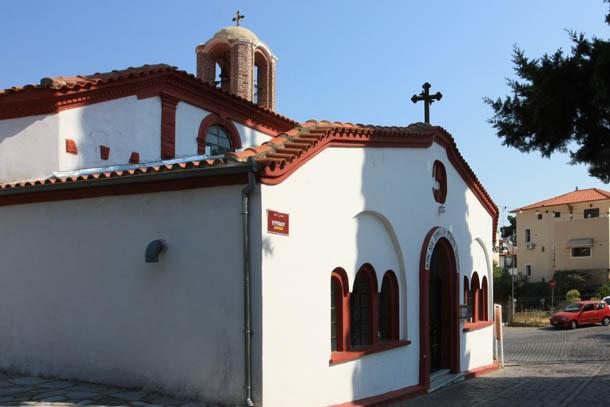 Ксанти - белая церковь