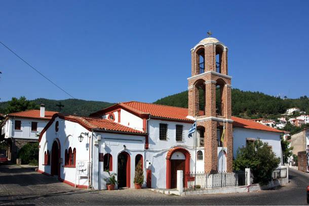 Ксанти - оригинальная церковь