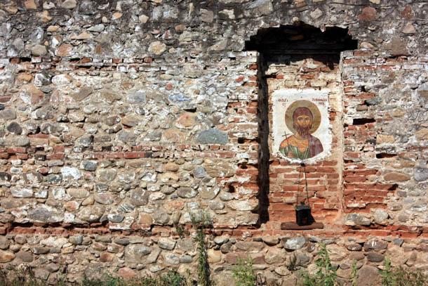 Ксанти - икона на древней стене