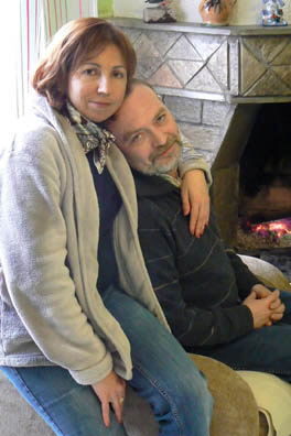 Андрей Трубецких фото с супругой