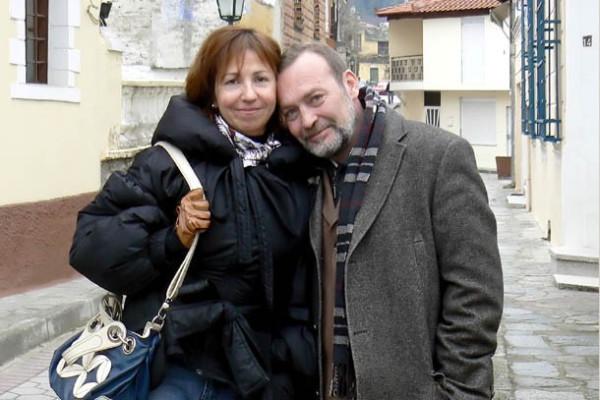 Андрей Трубецких с женой Ольгой