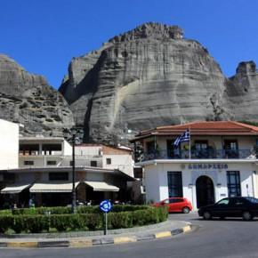 Каламбака — город у подножия метеорских скал