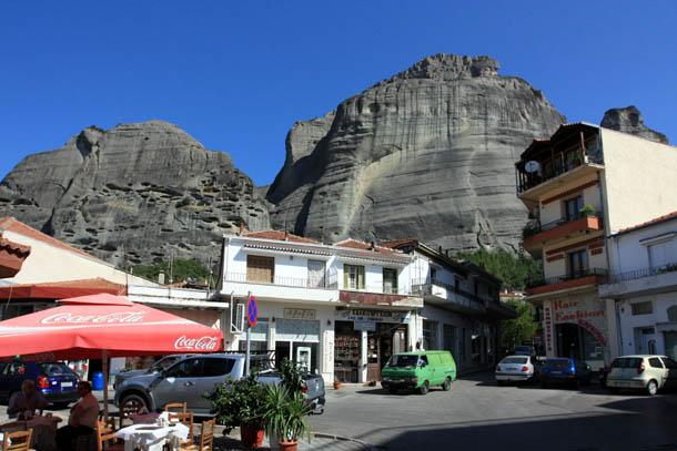 Каламбака - прогулка по городу