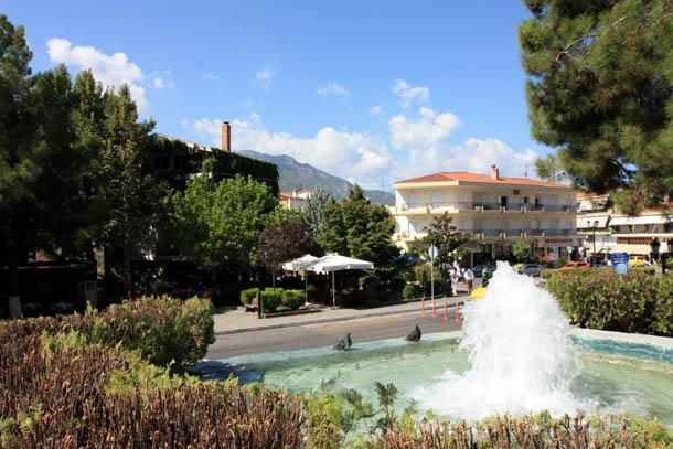 Каламбака - фонтан