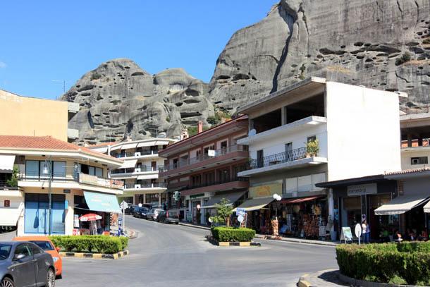 Каламбака - горные улочки города