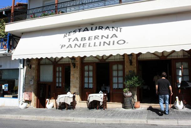 Ресторан Pannelio в Каламбаке