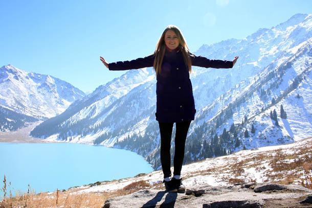 Марина Шамина - Большое Алматинское озеро