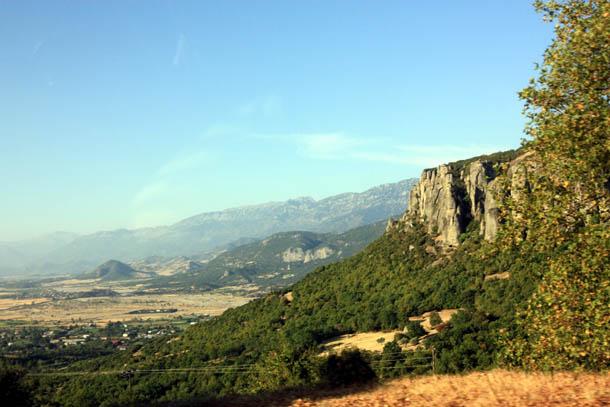 Горный ландшафт Греции