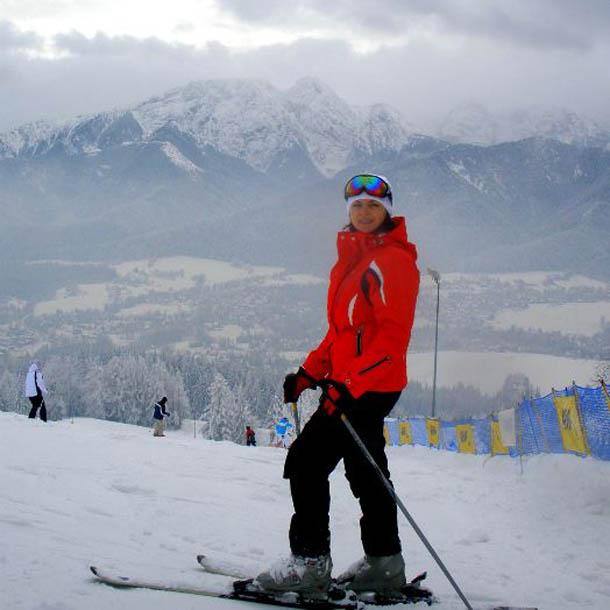 На лыжах в Закопане