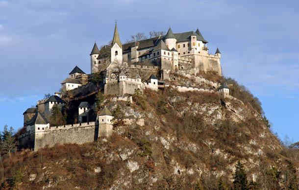 Замок Хохостервиц Каринтия
