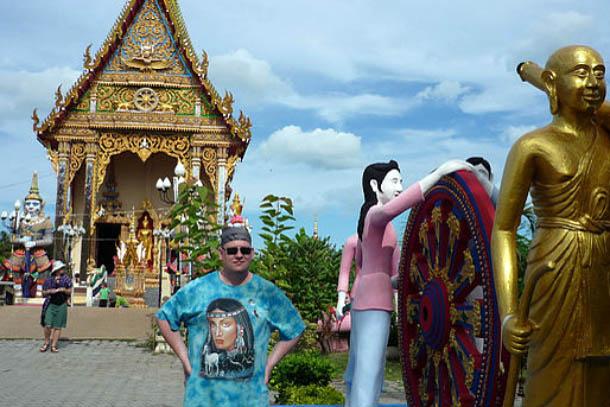 Виталий Леонтьев в Таиланде