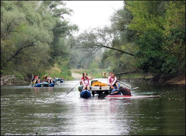 В походе по реке Ворскле