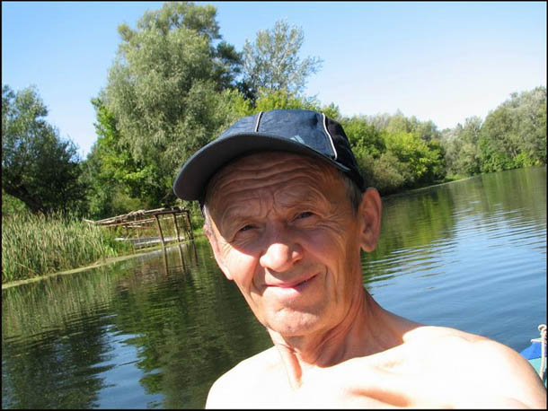 В водном походе по реке Псёл, Полтавская область.