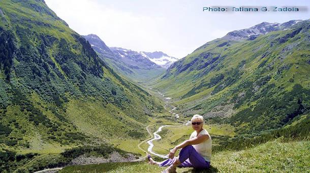 в Австрийских Альпах