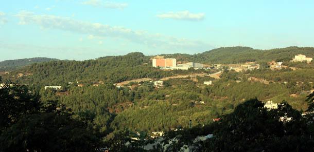 Кавала - вид на больницу