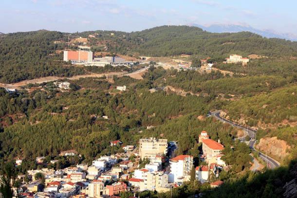 Кавала - панорамный вид на город