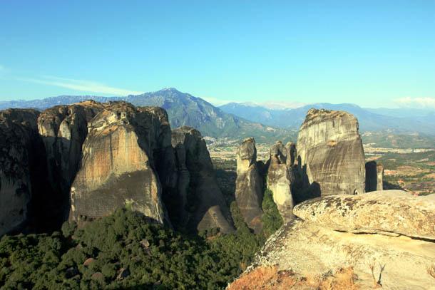 Скалы в Греции