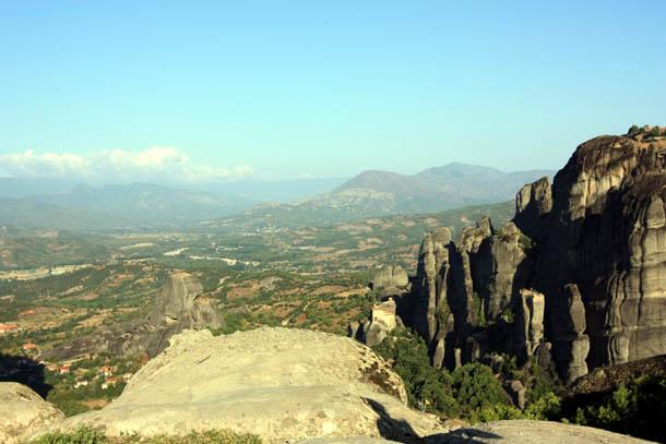 Горный пейзаж Греции - Метеоры