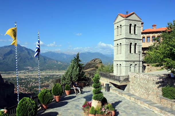 монастырь Варлаам в Греции
