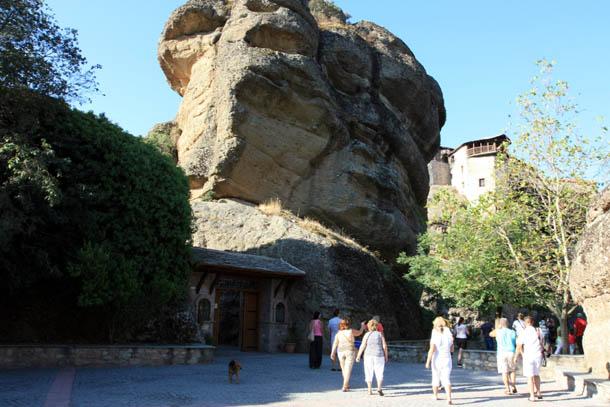 Варлаам - вход на территорию монастыря