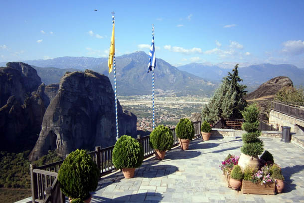смотровая площадка монастыря Варлаам