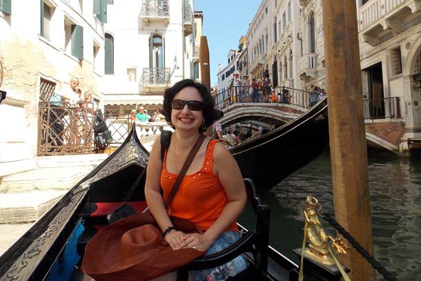 Сюзанна Фатьян в Венеции