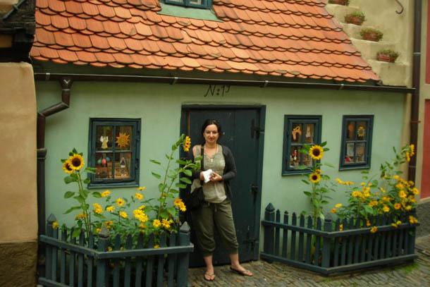 Золотая улочка, Прага